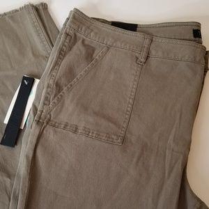 Tinsel Cargo Fray Hem Skinny Pant size 20w nwt